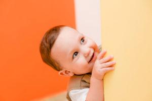 Farbauswahl Orange und Gelb im Kinderzimmer