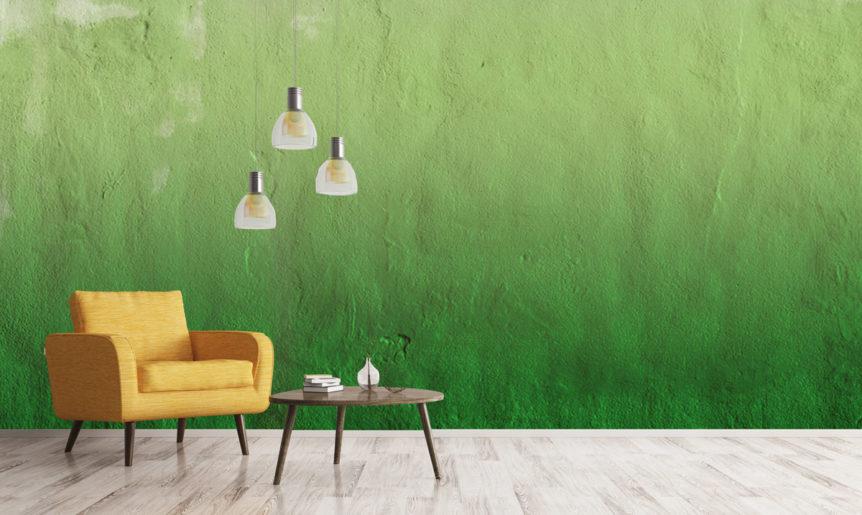 Interior Design Tipp: Ombré-Design als Look für Ihre Wand