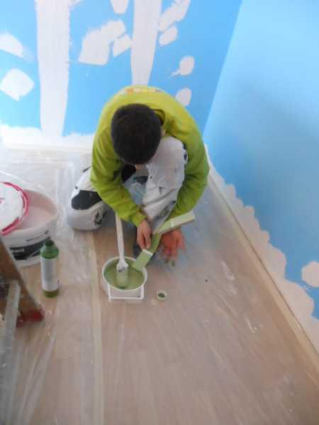 tag 2 azubi projekt neues zimmer f r marlon malermeister andree antosch. Black Bedroom Furniture Sets. Home Design Ideas