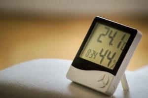 Luftfeutigkeit und Temperatur Messung